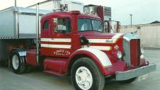 The second tractor G. Zavitz purchased a 1950 Mack (and we still have it)