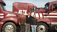 Tim Zavitz with sons Rob and Barry